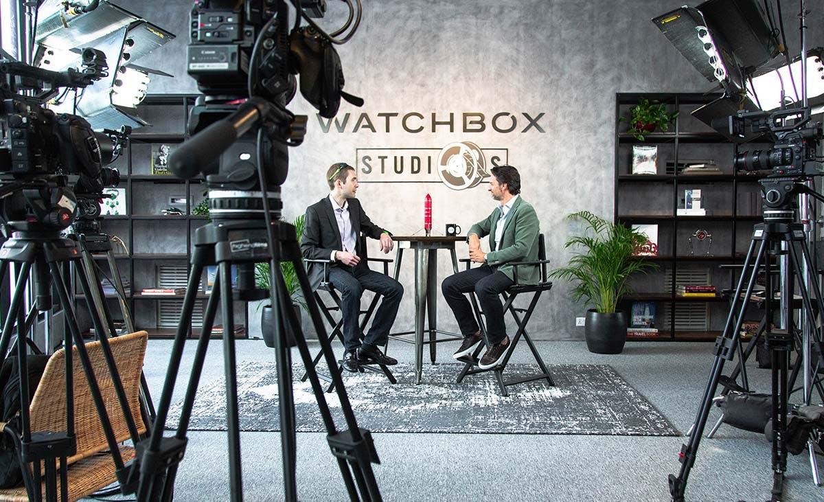 Watchbox Studios taping