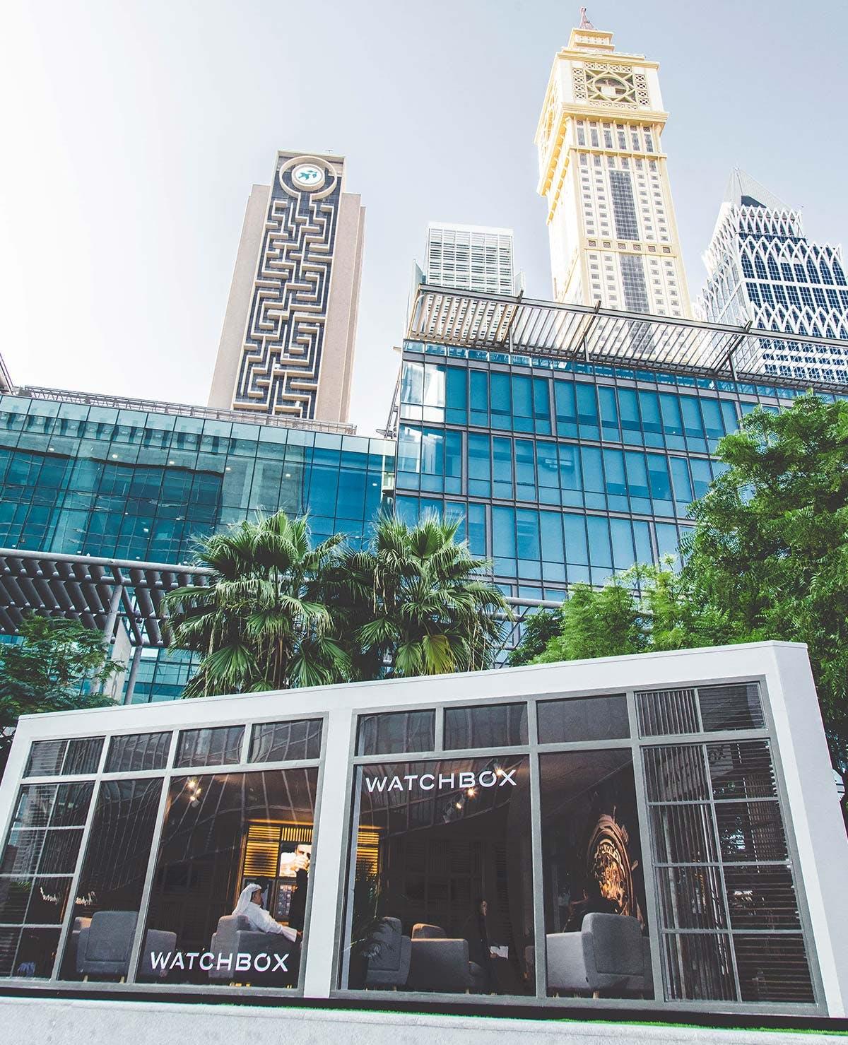 Dubai pop-up shop